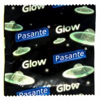 Prezerwatywy Pasante Glow 1 sztuka - świecąca w ciemności
