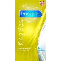Prezerwatywy w rozmiarze XL -  Pasante King Size - 12 sztuk
