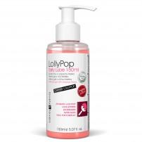 Żel oralny o aromacie wiśniowego lizaka - LOVELY LOVERS LollyPop Tasty Lube 150ml