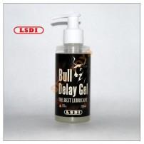 LSDI Bull Delay Gel Black 150 ml - żel przedłużająćy stosunek wersja premium