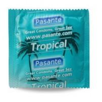Prezerwatywy Pasante Select Tropical 1 sztuka - tropicalna rozkosz