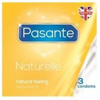 Prezerwatywy Pasante Naturelle 3 sztuki kartonikowe