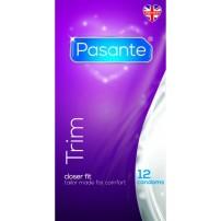 Prezerwatywy zwężone 12 sztuk - Pasante Trim