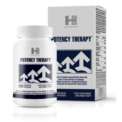 Potency therapy 60 tabletek skuteczna kuracja na poprawę potencji
