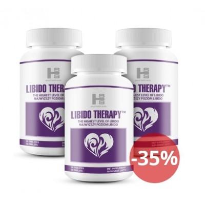 LIBIDO therapy 3 sztuki - hit na libido 1 opakowanie gratis